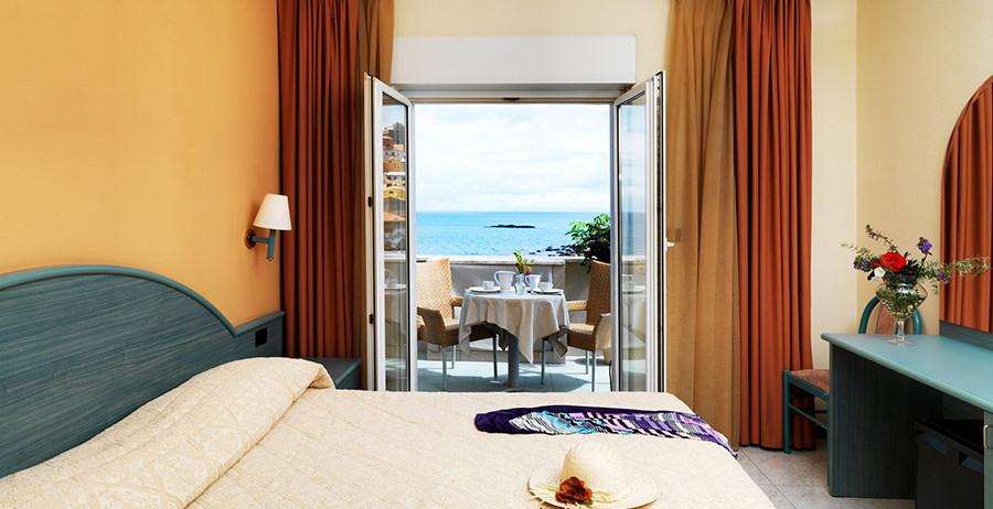 Camera dell'Hotel Riviera