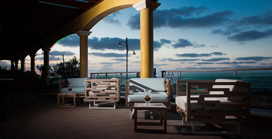 Vista esterna Hotel Riviera