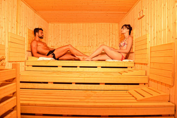 Sauna all'Hotel Orlando Sardegna