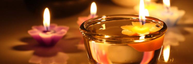Candle-massage